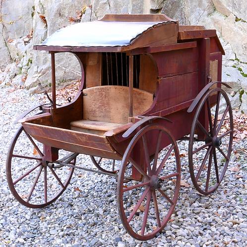 Wild West Show - Antique Jail Stagecoach