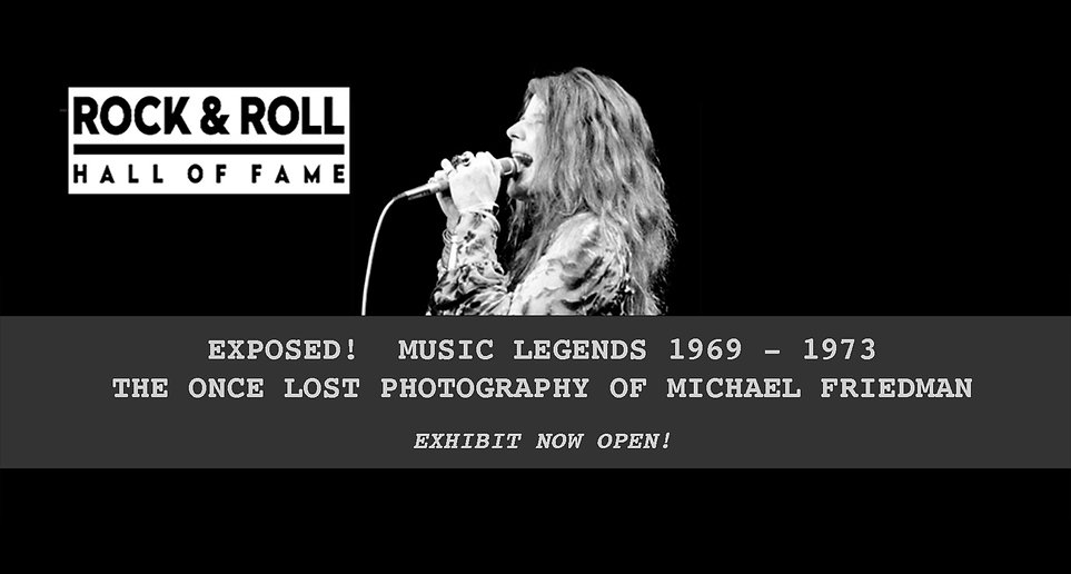 Rock & Roll Hall of Fame Michael Friedman Exhibit