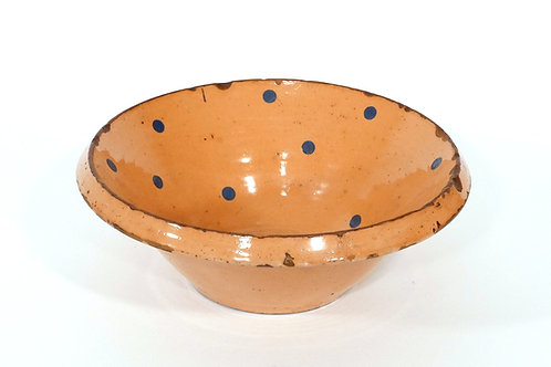 Polka Dot French Provincial Bowl