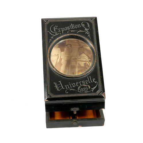 Circa 1889 Magnifying photo Viewer from The Exposition Universelle in Paris