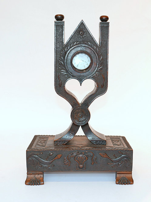 Hand Carved Watch Hutch