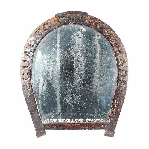 Horseshoe Advertising Beveled Mirror