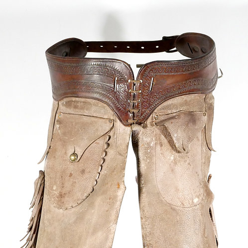 Early Fringed and Cuffed Shotgun Chaps
