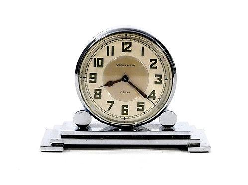 Double Sided Art Deco Partners Clock