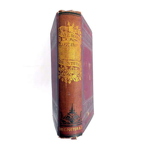 Daniel Boone's Life and Adventures by Cecil Hartley 1865 Edition (First?)