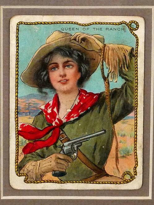Hassan Tobacco Cowboy Cards