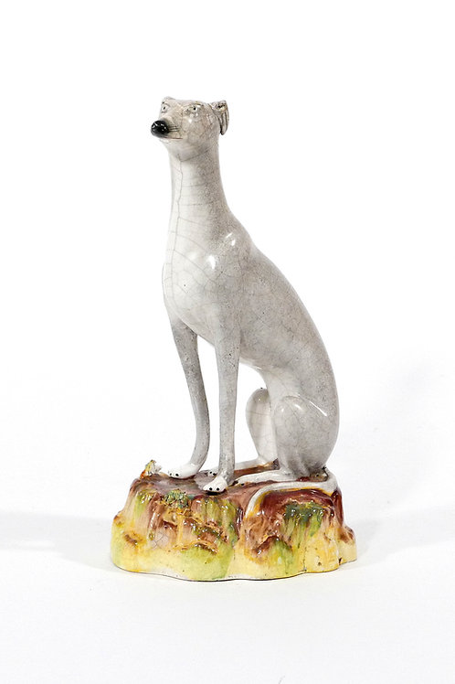 Staffordshire Pottery Greyhound