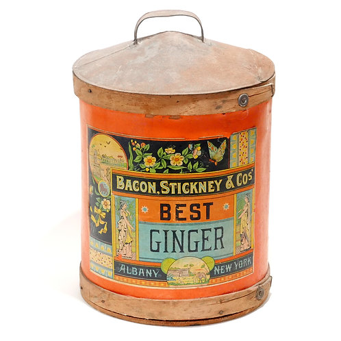 Antique Ginger Container