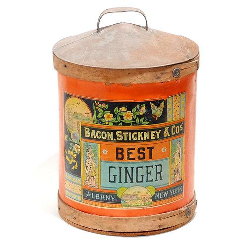 Antique Ginger Container