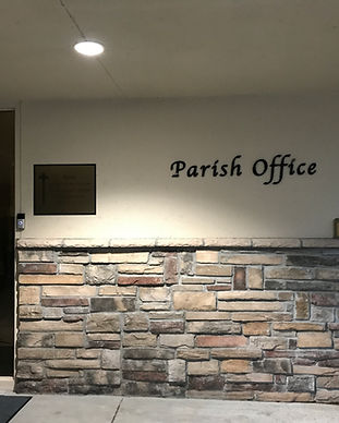 Parish Office Door.JPG