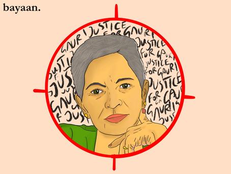 Gauri Lankesh - A woman named Dissent