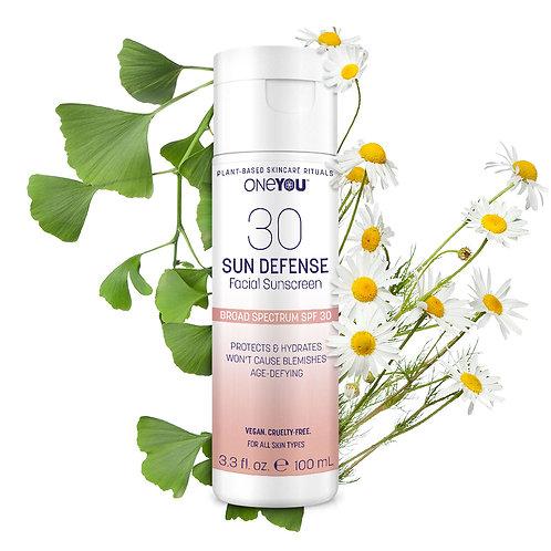 Sun Defense Facial Sunscreen: SPF 30