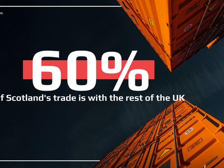 New Export Data Shows 60% of Scotland's Trade is with rest of UK