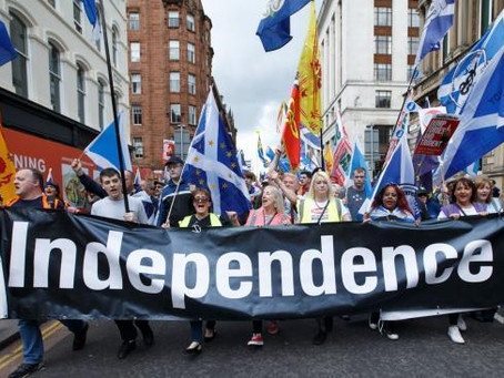 SNP ERASING INDEPENDENCE FROM ELECTION LEAFLETS