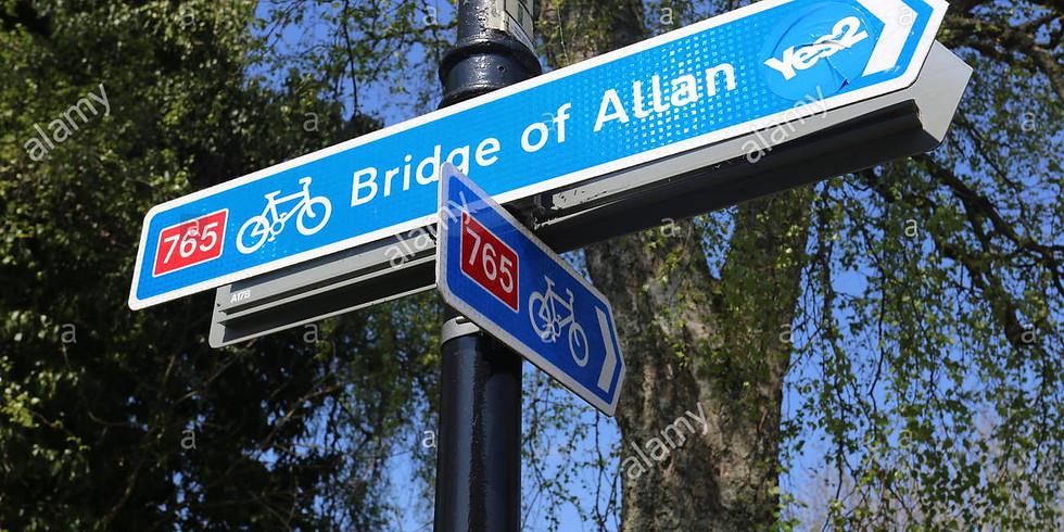 Bridge of Allan Leafleting - Fri 23rd August