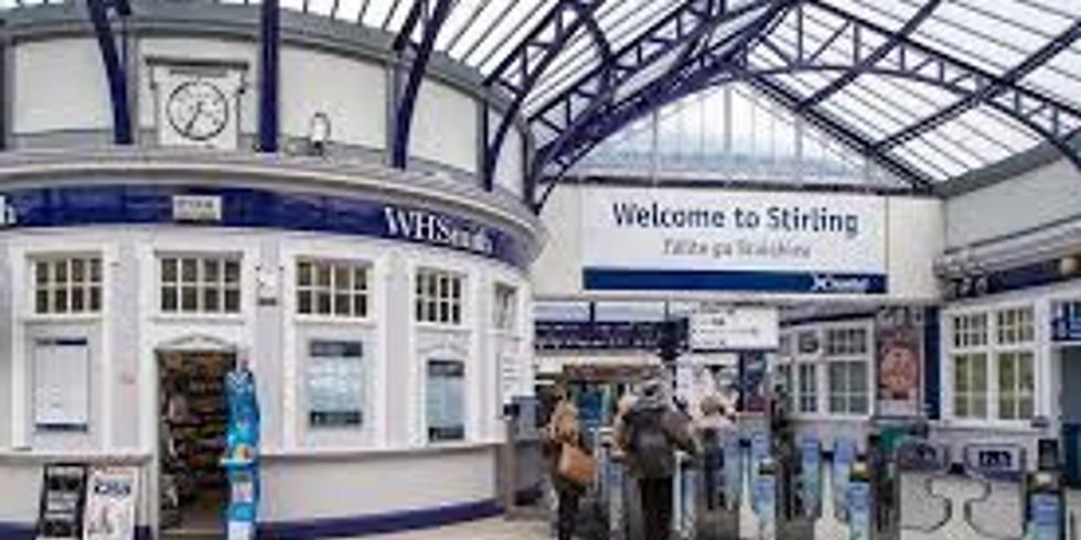 Stirling door to door leafleting