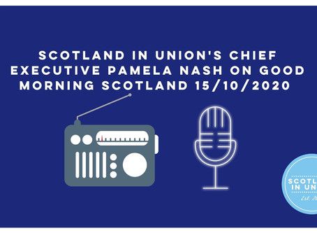 Our Chief Executive on Good Morning Scotland