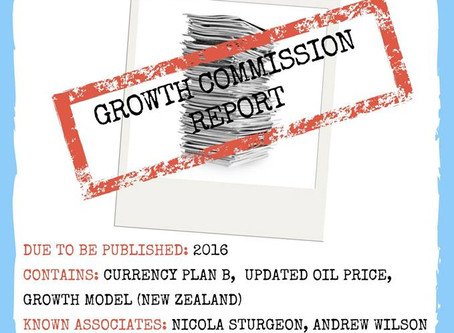 URGENT APPEAL: Missing Growth Commission Report