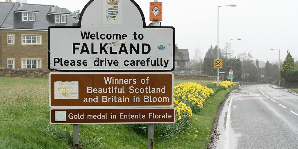 Falkland Leafleting. Sat 8th December