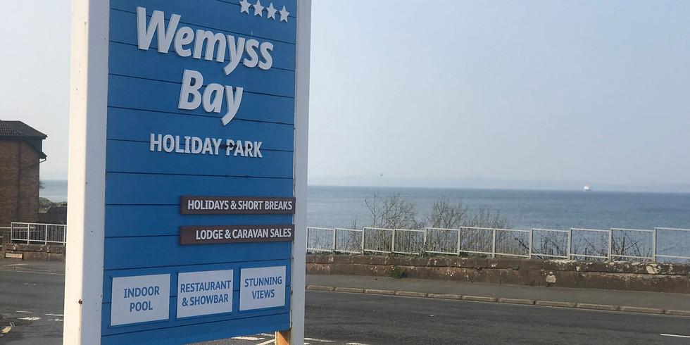 Weymss Bay Leafleting - Mon 19th August