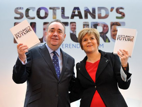 """Nicola Sturgeon orders civil servants to continue compiling """"White Paper Two""""."""