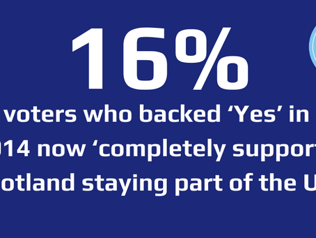 NEW OPINION POLL REVEALS STRENGTH OF OPPOSITION TO SCEXIT