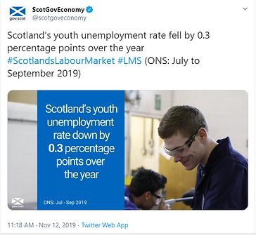 Scottish gov youth job figures.PNG