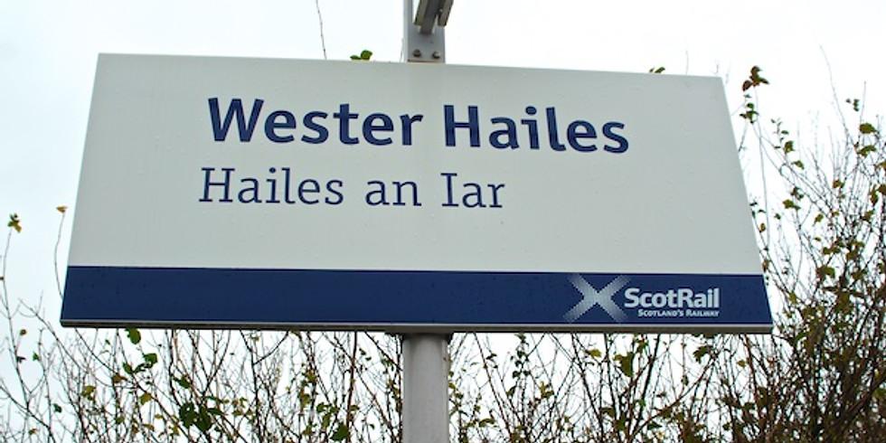 Wester Hailes/Kingsknowe Leafleting - Edinburgh