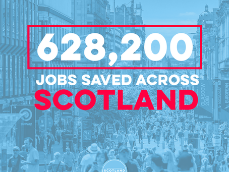 OVER A QUARTER OF JOBS IN SCOTLAND SAFEGUARDED BY UK