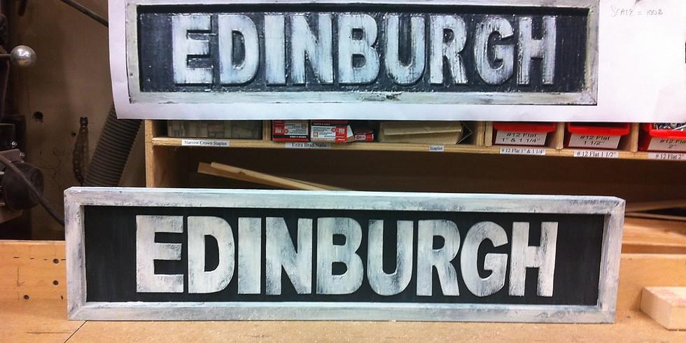 Edinburgh Leafleting - Saturday `15th June