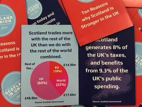 NEW CAMPAIGN – Ten Reasons why Scotland is Stronger in the UK