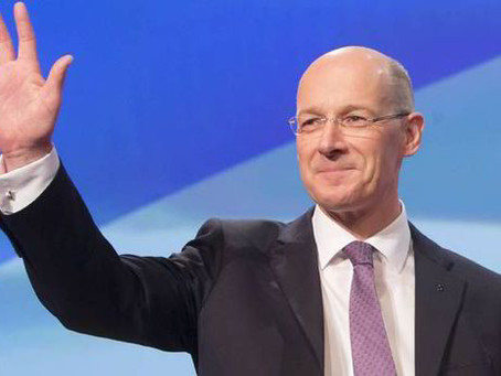 Irresponsible Swinney claims a divisive second referendum is a 'priority'.