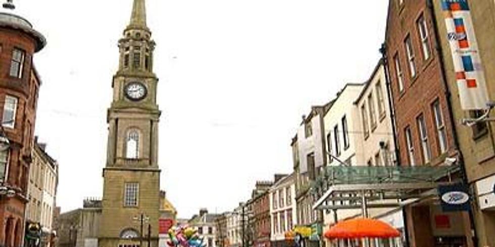 Falkirk Street stall - Saturday 10th August