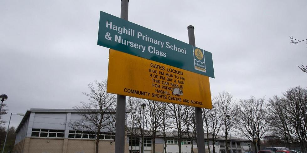 Haghill leafleting (Glasgow)