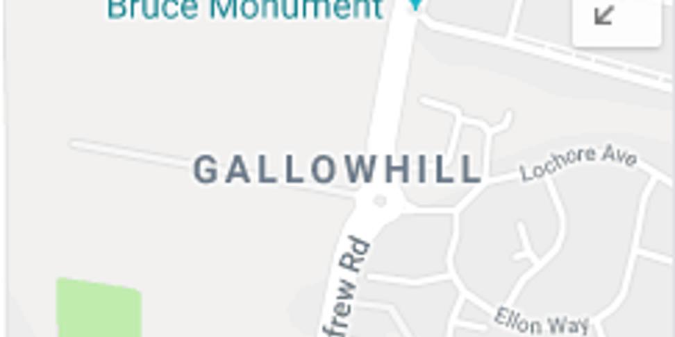 Gallowhill (Paisley) Leafleting.