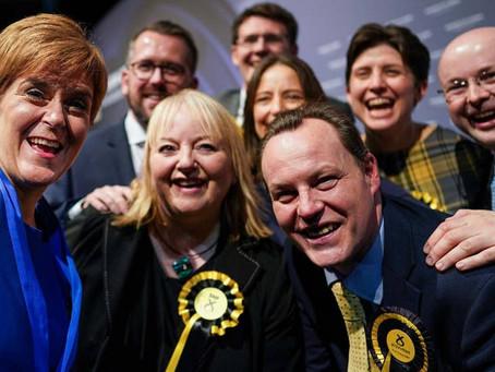 Majority of Scots vote for Pro UK parties.