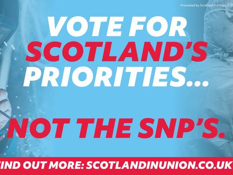 Vote for Scotland's priorities - not the SNP's