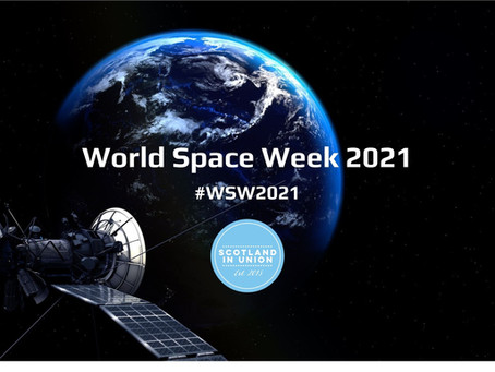 Patrick Harkness on World Space Week 2021