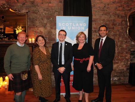 Scotland in Union's Glasgow Burns Supper 2020