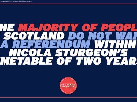 Majority of Scots oppose Nicola Sturgeon's Indyref2 timetable