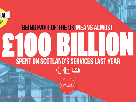 GERS figures show nearly £100 billion spent in Scotland