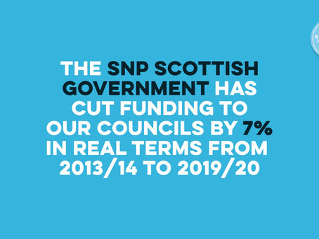 SNP and the cuts to our local councils
