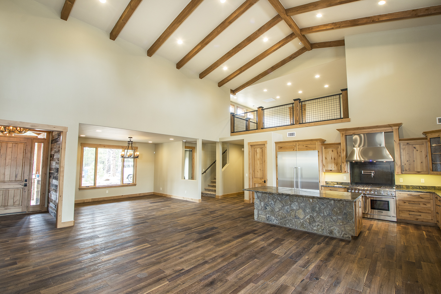 Great Room - Kitchen - Dining