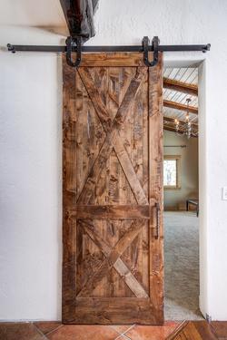 Master Bedroom Barn Door