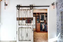 Master Closet Barn Door