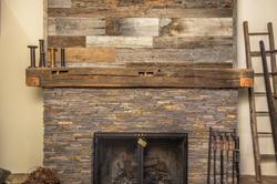 Living Room Fireplace Mantel