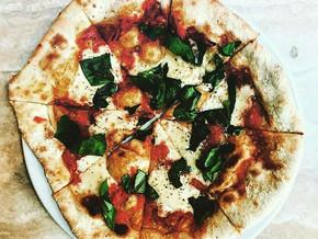 The classic. Tomato, mozzarella & basil.
