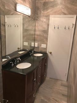 Baltimore city  Double Sink Bathroom