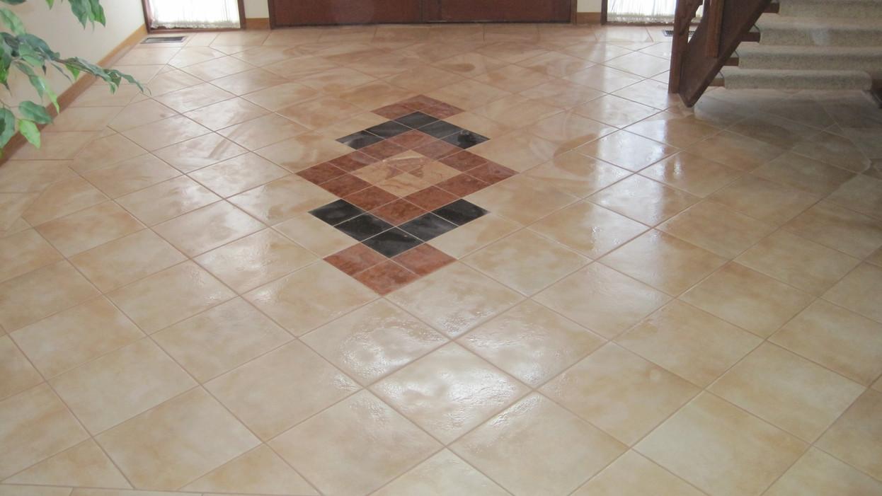 Tile work in Pikesville