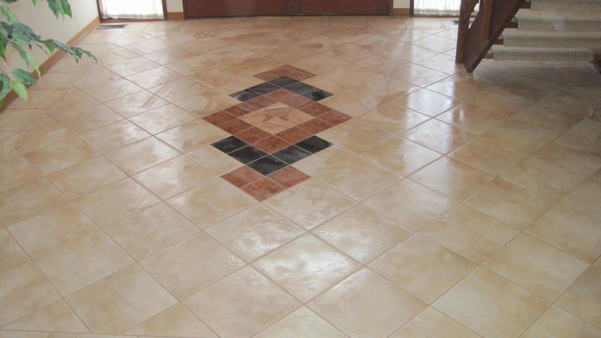 Tile work in Pikesville